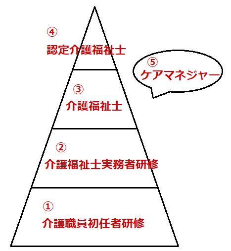 キャリアパスの図